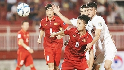 Vietnam, Jordan draw in Asian Cup 2019 qualifier