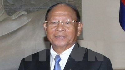 Cambodian parliament president to pay official visit to Vietnam