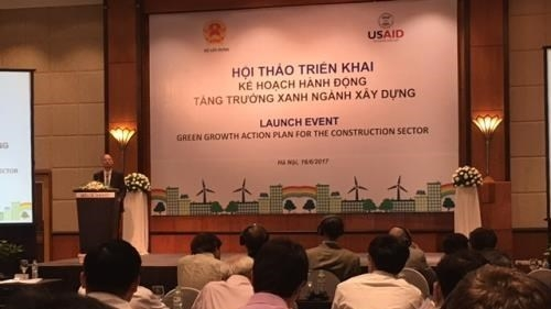 Workshop discusses action plan for green growth in building sector