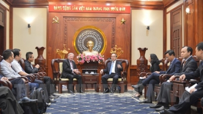 Ho Chi Minh City, Microsoft step up cooperation