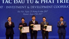 Over VND200 trillion pledged to Hanoi at investment conference