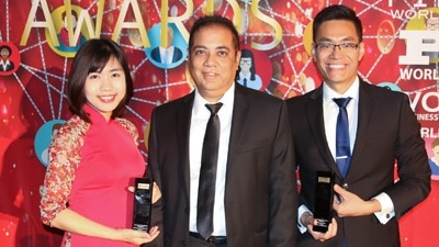 Viettel products honoured at 2017 IT World Awards