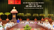 HCM City Party Committee's meeting discusses local socio-economic issues