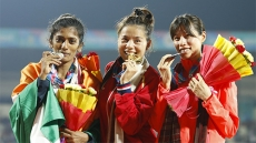 Huyen wins gold at Asian athletics competition, breaks SEA Games record