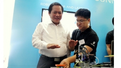 5G technology demonstrated for the first time in Vietnam