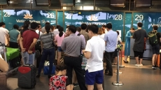 Passengers advised to check in two hours before domestic flights