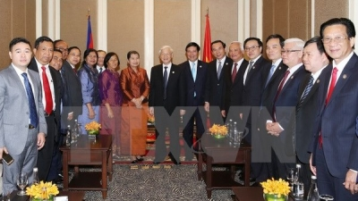 Party chief hails Cambodia-Vietnam friendship association's activities