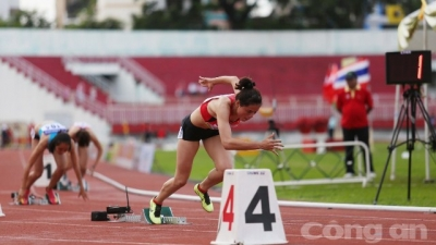 Int'l track and field tourney opens in HCM City