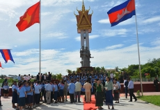 Vietnam-Cambodia friendship monument restored