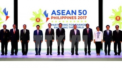 ASEAN foreign ministers agree on draft COC framework, concerned about DPRK's weapon programme