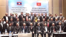 Vietnam, Laos Parties share experience in sustainable development