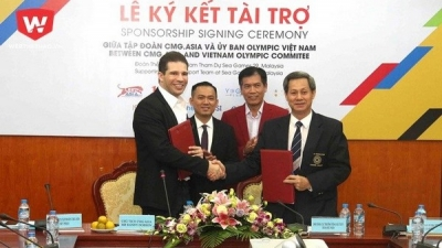 CMG.ASIA sponsors Vietnam sport delegation at 29th SEA Games