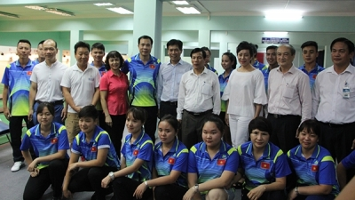 Vietnamese athletes encouraged ahead of SEA Games departure