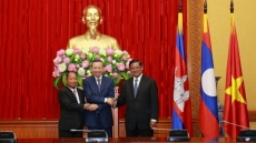 Vietnam, Laos, Cambodia boost security cooperation