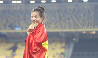 Vietnam wins six additional gold medals in track and field, swimming and karate