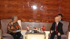 Party leader lauds Indonesia-Vietnam friendship association's efforts