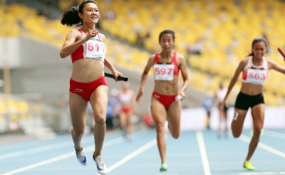 Historical milestone for Vietnamese athletics team