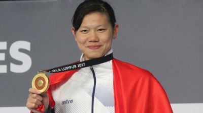 Anh Vien concludes SEA Games campaign with eight individual gold medals