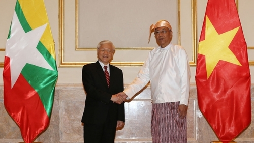 August 21-27: Party chief's visits create new momentum for ties with Indonesia, Myanmar