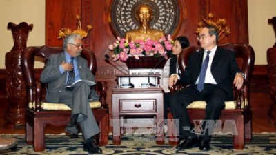 Ho Chi Minh City, UNDP boost cooperation