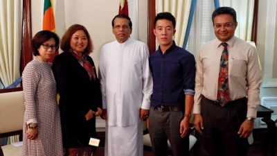 Sri Lanka president praises cultural and economic ties with Vietnam