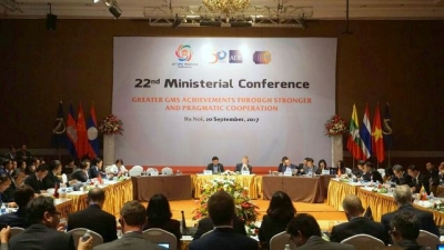 Mekong minsters endorse US$64 billion project towards sustainable regional development