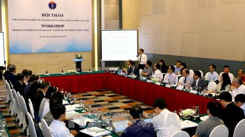 Seminar discusses international experience on quality assurance for healthcare training