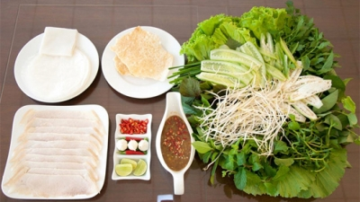 Pork Summer Roll - A specialty of Da Nang