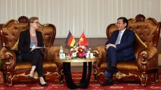 Deputy PM urges for Germany's support for climate change response in Mekong Delta