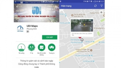 City launches mobile app to facilitate flood warnings