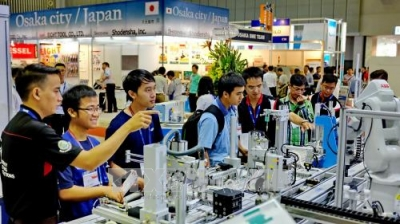 International exhibition on machine tools opens in Ho Chi Minh City