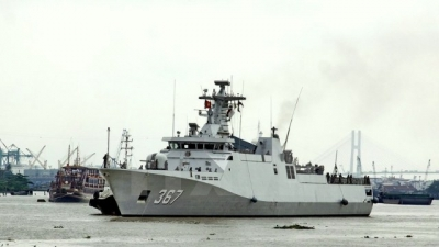 Indonesian Navy ships visit Ho Chi Minh City
