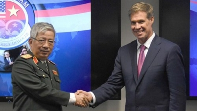Vietnam-US defence dialogue takes place in Washington DC