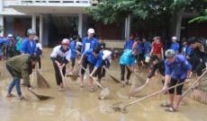 Activities support flood victims