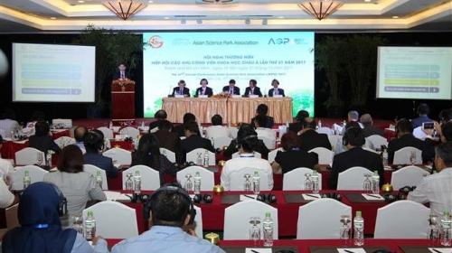 21st Asian Science Park Association conference runs in HCM City