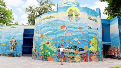 Thong Nhat Park's Mirror House gets new look