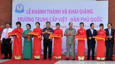 RoK-funded vocational school opens in Phu Quoc