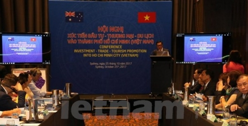 Ho Chi Minh City promotes investment opportunities to Australian firms
