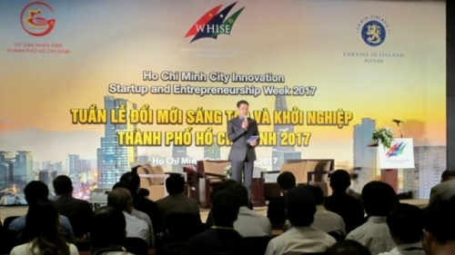 Start-up event offers cooperation opportunities for HCM City, Finland