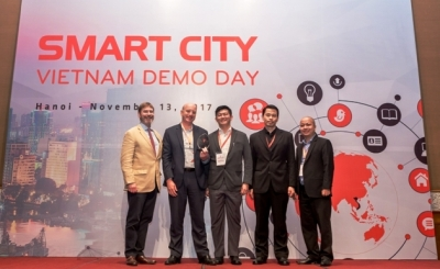 Top three smart city solutions for Vietnam announced