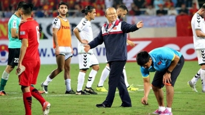 Head coach Park marks debut with ticket to finals