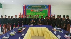 Young Vietnamese army officers join exchange in Cambodia