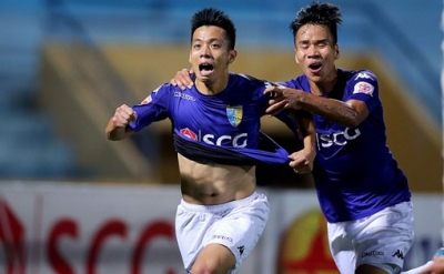 Hanoi FC edge out Quang Nam in an emotional match