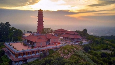Reconstructed 11th century Tuong Long Pagoda unveiled in Hai Phong