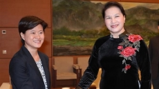 NA Chairwoman, ambassador discuss upcoming trip to Singapore