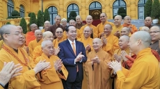 President Tran Dai Quang hails success of Buddhist congress