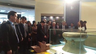 Thang Long - Hanoi's national treasures introduced to the public for the first time