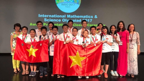 Vietnam wins first ever Olympic gold medal in Science category