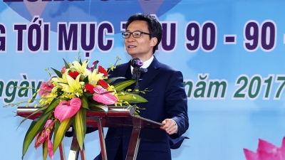 Deputy PM urges greater efforts for UN 90-90-90 Goals