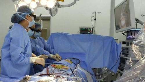 3D technology applied in cardiovascular surgery for the first time